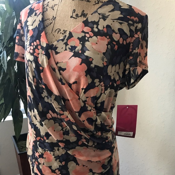 212 Collection Tops - 212 Collection Floral Blouse